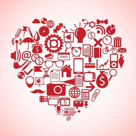 Heart concept Stock Vector - 23357007