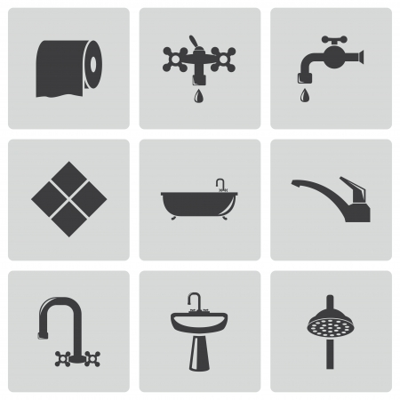 papel higienico: iconos de Baño