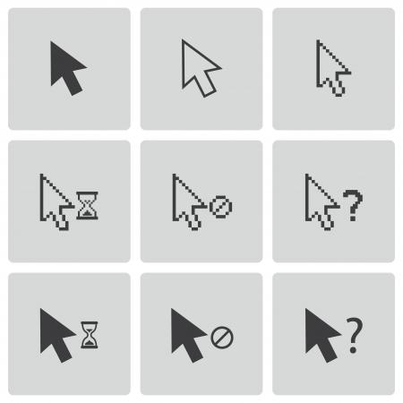 3d cursor: mouse cursor icons set