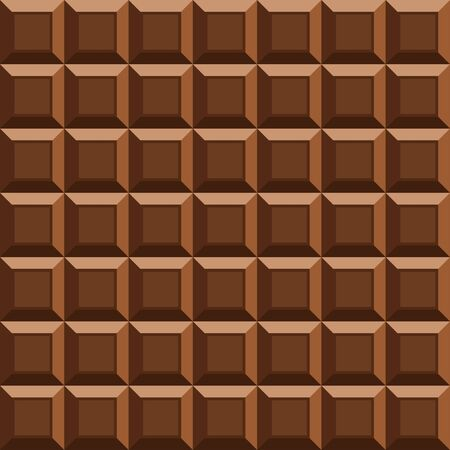 brown sugar: Vector milk tile chocolate seamless background. Seamless pattern with chocolate texture