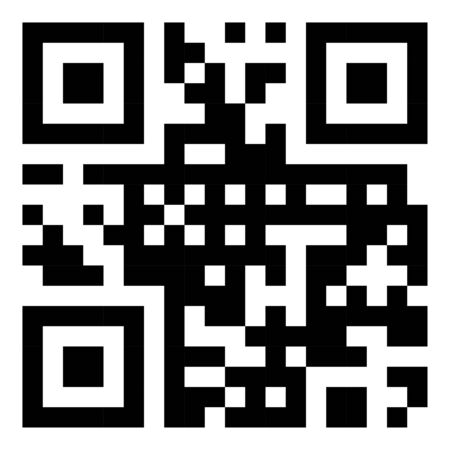 vector sample: Vector sample qr code ready to scan with smart phone