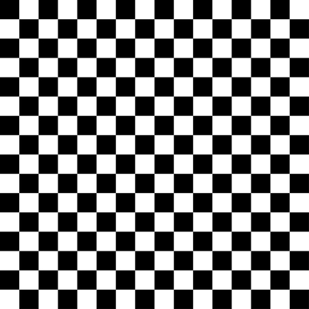 checkerboard backdrop: Vector checker chess square abstract background. Black and White Squares Illustration