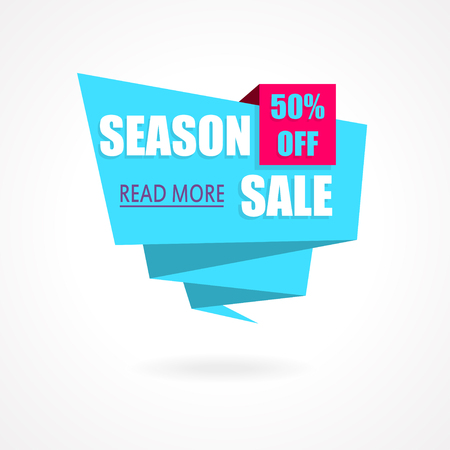 end of summer: Season Sale Weekend special offer poster, banner background. Vector illustration