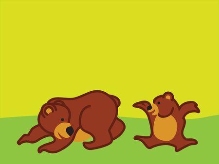 kodiak: Mother Bear & Cub