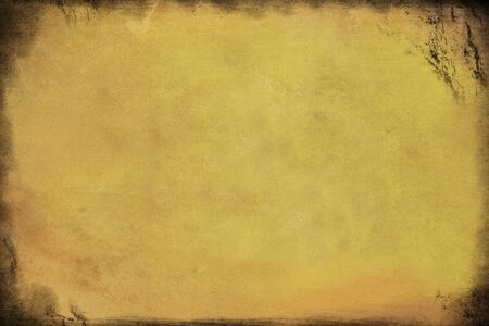 Background texture of old paper, yellowed with time, with dirty spots