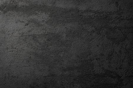 Texture, grunge black asphalt or concrete wall as background Imagens