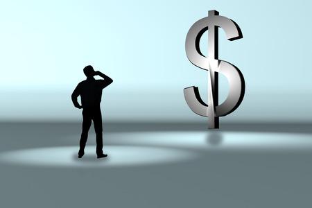 Hoeveel geld kan ik verdienen? Stockfoto