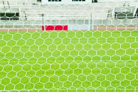 white football net photo