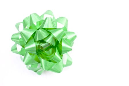 Green Bow Stock Photo - 14971099