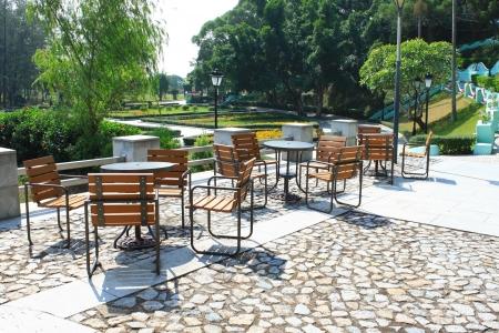 outdoor restaurant: Outdoor restaurant