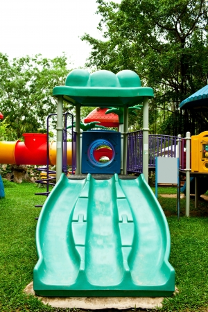 Children Stairs Slides equipment  photo