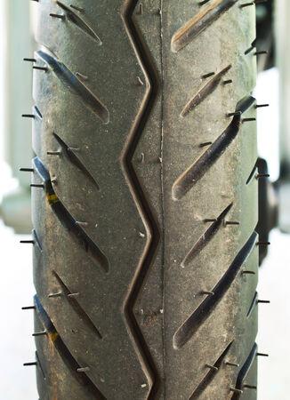 damper: Motorcycle tyre