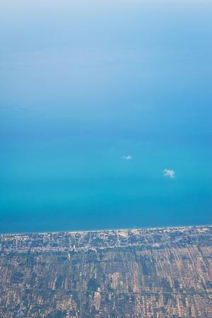birdeye: Sea and Coast - top view