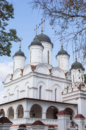 The Orthodox Church of the Transfiguration in Vyazemy, Odintsovo district, Moscow Region, Russia Stock fotó
