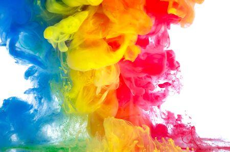 multi-color vloeistof bewegende