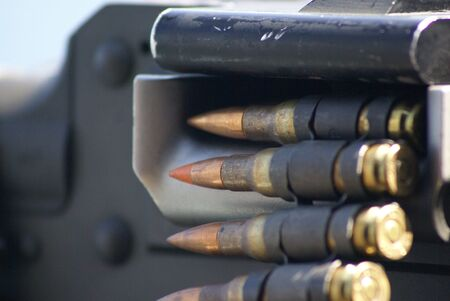 50 cal bullets loaded in gun