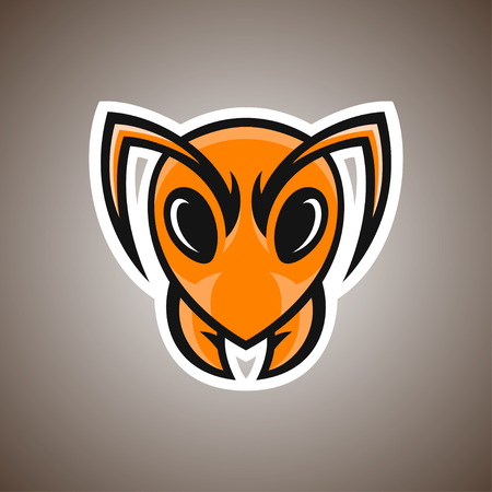 Vector illustration of ant. Sport mascot. Vettoriali