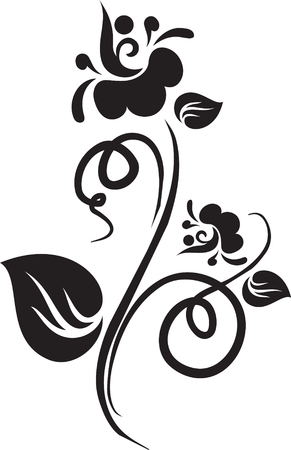 Floral tattoo Illustration