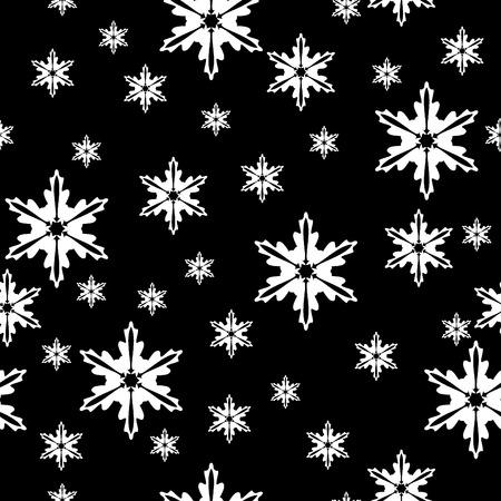 Winter seamless pattern Illustration