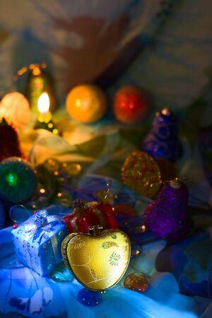 New year night holiday background photo