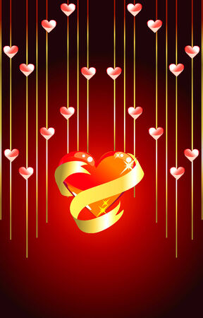 Valentine background for your design Stock Vector - 4172116