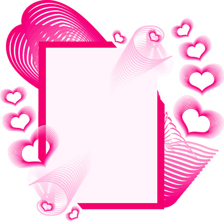 Valentine background for your design Vector