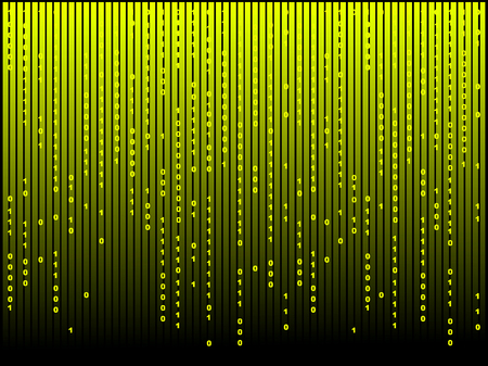 Abstract matrix computer background for your design Vector