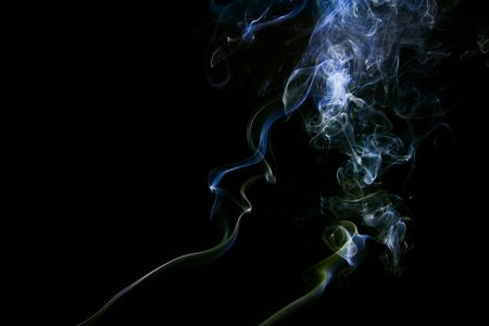 Smoke abstract background for your design