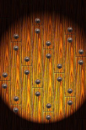 bordering: Abstract wooden with nail background