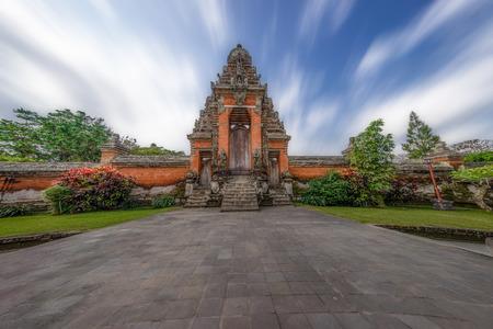 taman: Taman Ayun temple gate, Bali