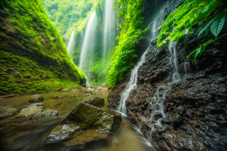 Madakaripura waterfall, travel Indonesia Asia
