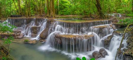 khamin: Huay Mae Khamin panorama, Thailand Stock Photo