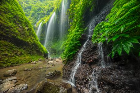 Beautiful Madakaripura waterfall, Indonesia Asia