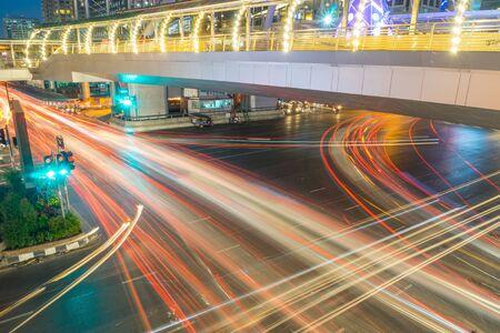 Bangkok Querverkehrs Thailand