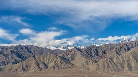leh: Leh mountain landscape, Leh, Ladakh, India