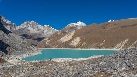 everest: Thonak lake, Everest region, Nepal Stock Photo