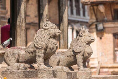 garuda: Garuda statue at Patan Dubar square,Kathmandu