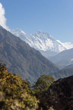 everest: Everest and Lhotse mountain peak, Everest region