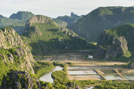 Sam Roi Yod mountain landscape, Prachuap Khiri Khan, Thailand