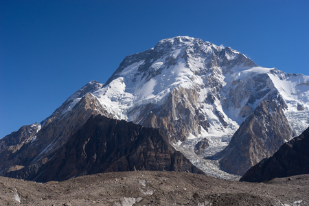 Broadpeak in the morning, K2 trek, Pakistan, Asia