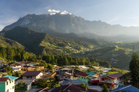 Kinabalu mountain peak, highest peak in Sabah Malaysia, Asia