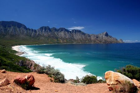 south african: An unspoilt stretch of South African Coastline