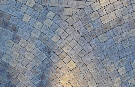 The texture of the pavement of concrete tiles Stockfoto