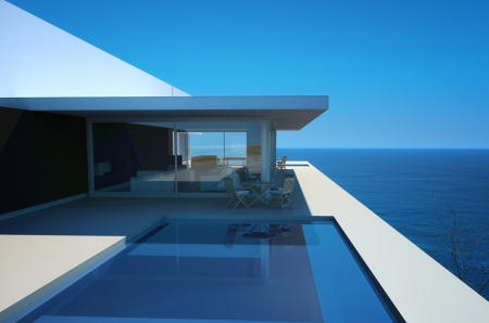 Modern Luxury Design Villa with seascape view