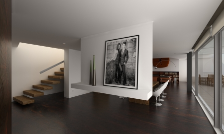 Modern Design Loft Interior photo