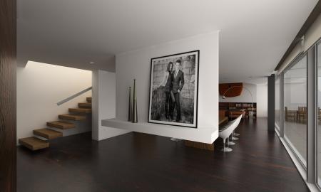 Modern Design Loft Interior