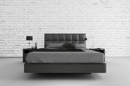bed room: Modern design bedroom   3d Interior architecture
