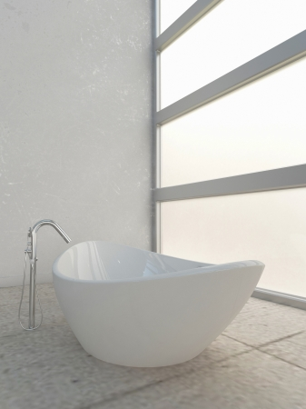 Modern bathroom interior Stock Photo - 20217852