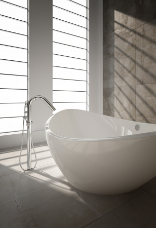 Modern bathroom interior Stock Photo - 20217858
