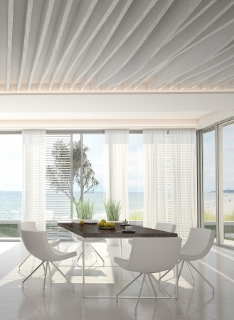 3d kitchen   Dining room interior photo